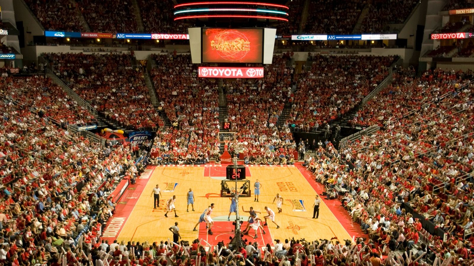 Things to Do in Houston, Texas - Houston Toyota Center